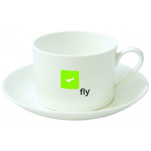 Stirling cup & saucer set